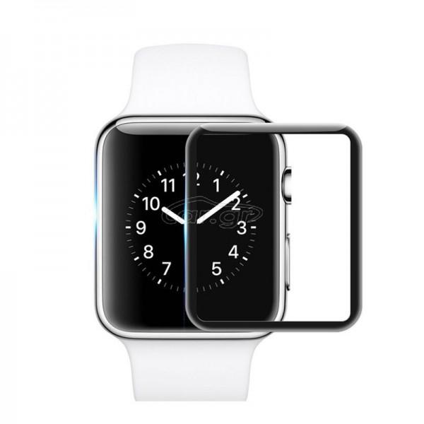 Tempered Glass Mocolo TG+ 3D για Apple Watch 4 (44mm) (Μαύρο)