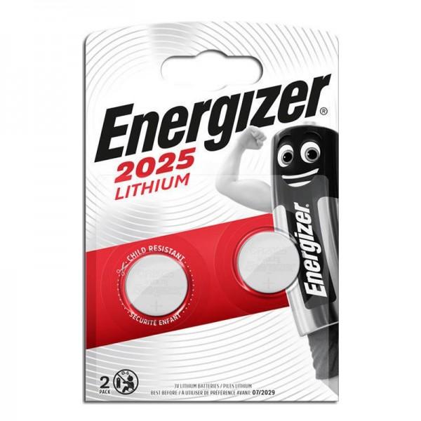 Μπαταρίες Energizer 2025 Ultimate Lithium 3V (2τμχ) (Ασημί)