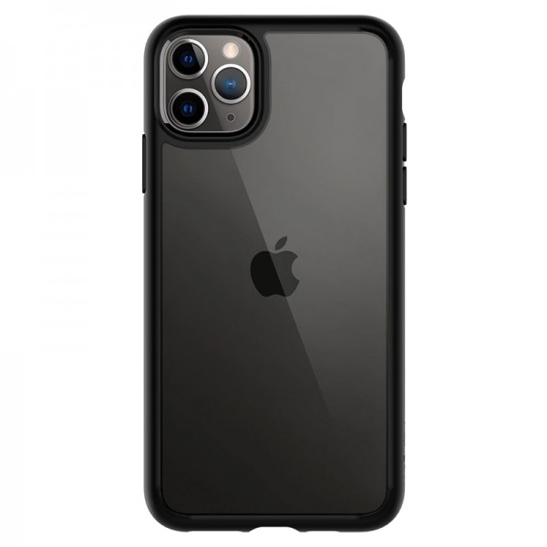 Θήκη Spigen Ultra Hybrid Back Cover για iPhone 11 Pro Max (Μαύρο Ματ)