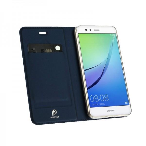 Θήκη Dux Ducis SkinPro Flip Cover για Huawei Y7 2019 (Μπλε)