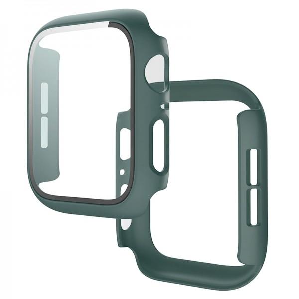 Θήκη Προστασίας με Tempered Glass για Apple Watch 42mm (Casal Green)