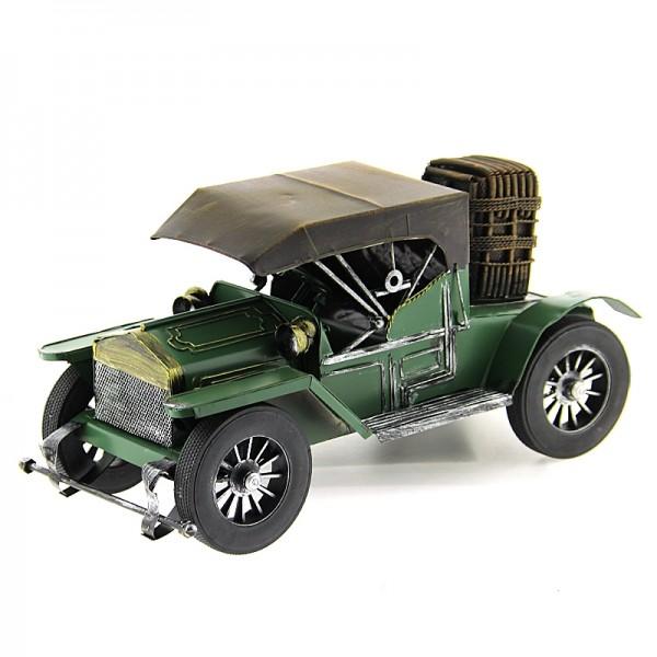 Μεταλλικό Διακοσμητικό Αυτοκίνητο Αντίκα (Πράσινο)