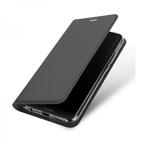 Θήκη Dux Ducis SkinPro Flip Cover για Huawei Y7 2019 (Μαύρο)