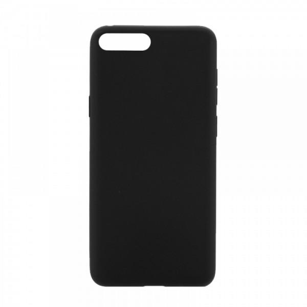 Θήκη MyMobi Σιλικόνης Mat Back Cover για Oppo Realme 7i (Μαύρο)