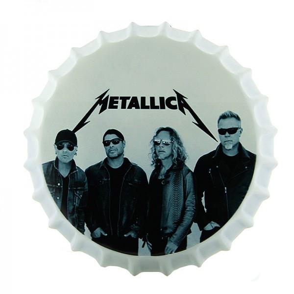 Διακοσμητικό Τοίχου Καπάκι Metallica (Design)