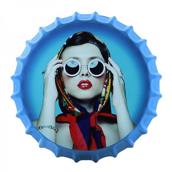 Διακοσμητικό Τοίχου Καπάκι Vintage Fashionista (Design)