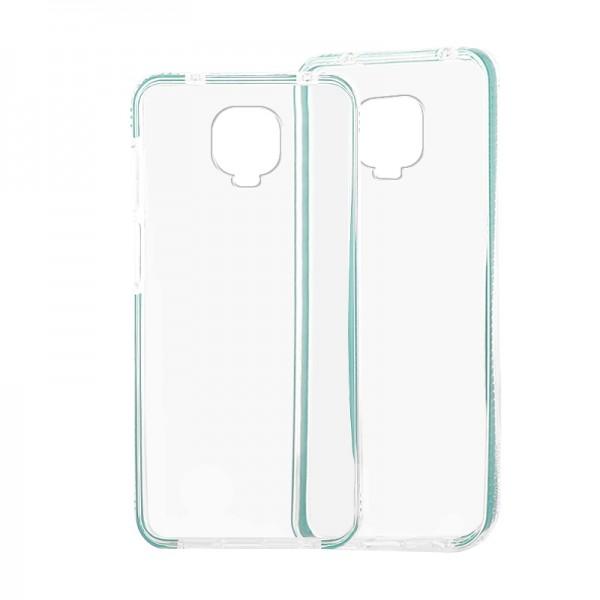 Θήκη Σιλικόνης Bumper Back Cover για Xiaomi Redmi Note 9S/ 9 Pro (Βεραμάν)